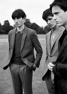 """Alex Dunstan, Aaron Gatward & Callum Rockall in ""Youth Memories"" Photographed by Chris Craymer and Styled by David Nolan for DSection Magazine #12 Fall/Winter 2014 """
