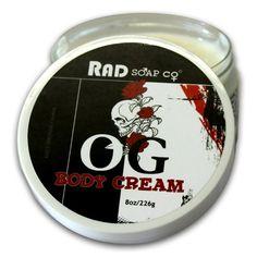 Rad Soap Company OG Body Cream