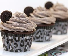 They are probably the best Oreo cakes I have ever tried. A lot of cake's that I have experimented with before are like a vanilla cake with bits of Oreo ...