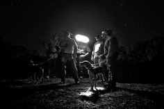 Coon Hunting, photo by Brandon Thibodeaux Wild-eyed coon hounds pierce through the moonlit terrain of central Texas, their masters trampling behind through a maze of briar and brush in search of their elusive nocturnal prey, the raccoon. A masked...