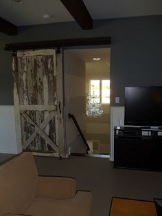 House of Hargrove {the blog}: My House of Hargrove-2nd Edition    Barn door in our game room