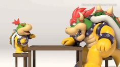 soft-deer-bxy:  Bowser is a good dad.  Bonus:  He giggle.