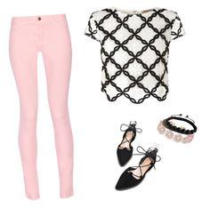 """""""Untitled #1"""" by vzgirl18 ❤ liked on Polyvore featuring Maison Kitsuné, Lipsy, BaubleBar and Shamballa Jewels"""