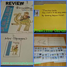 Review and Giveaway of Timeline Cards