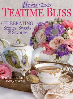 """Just bought this today.  So full of tea time """"eye candy"""".  Some interesting recipes too!"""