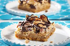 These HONEY MAID Cracker Caramel Bars have that whole sweet and salty thing going on.
