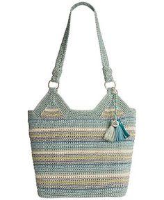 The Sak Ellis Crochet Tote - Handbags & Accessories - Macy's