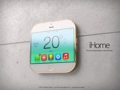 Apple iHome Concept Deals With Home Automation in Small Sizes