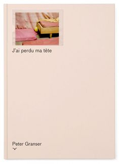J& perdu ma t& by Peter Granser Graphic Design Books, Graphic Design Inspiration, Editorial Layout, Editorial Design, Print Layout, Layout Design, Book Cover Design, Book Design, Branding