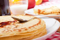 Basic Crepe | Delicious & Just 84 Calories! | Fill with Fruits for a Sweet Treat, or Go Savory with Grilled Vegetables & Cheese | From Eggland's Best #client #EBeggs