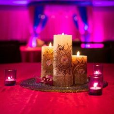 Love when photographers send me pictures of my work! #centerpiece #mehndi #decor