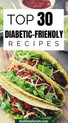 Are you diabetic and looking to lose weight? These are easy 30 day diabetic friendly diet recipes that are great for weight loss. These meals and snacks are delicious and help curb your appetite as well leaving you full and satisfied. Check out these insulin resistance recipes to start living your best life! #diabeticrecipes #diabeticrecipestype2 #diabetic #insulinresistancediet #metabolicsyndromedietrecipes Easy Diabetic Meals, Healthy Recipes For Diabetics, Diabetic Meal Plan, Diabetic Friendly, Diet Recipes, Diabetes Recipes, Diabetes Diet, Best Healthy Diet, Best Diet Foods