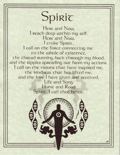 Spirit Evocation Book of Shadows Page or Poster Wicca Pagan Witchcraft Magick Spells, Wicca Witchcraft, Blood Magic Spells, Under Your Spell, 5 Elements, Witch Spell, Spirit Guides, Book Of Shadows, Spelling