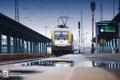 [HU] Werbelok alert: 470 006 becomes 'Semmelweis – Railcolor News Great Pictures, Beautiful Pictures, University Logo, Locomotive, Get One, Budapest, Taurus, Transportation, Train