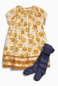 Buy Dress & Tights Set (3mths-6yrs) online today at Next: United States of America