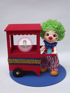 Nilla, Clowns, Biscuits, Polymer Clay, Alice, Pasta, Cute, Animals, Circus Crafts