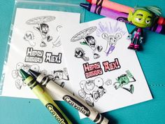 Teen Titans Go Party Favor Inspired Personalized by JaynesArt