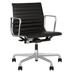 Vitra EA117 Leather Office Chair Online at johnlewis.com