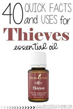 uses for thieves essential oil
