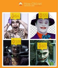 The Joker is a 60-Year-Old Woman