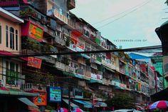 Ruas de Phnom Penh