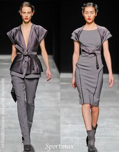 Fashion for women over 40 from the Fall / Winter 2012 collections – best dresses and outfits