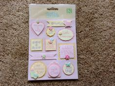 New  Scrapbooking Dimensional Stickers by YourScrapbookingShop, $2.49