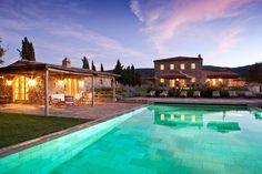 Villa Sant'Anna  Montalcino Area, Tuscany, Italy