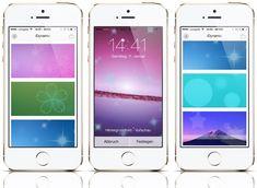 iDynamic für iOS 7: eigene dynamische iPhone Wallpaper