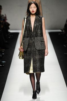 Max Mara | Fall 2014 Ready-to-Wear Collection | Style.com [Photo: Kim Weston Arnold / Indigitalimages.com]