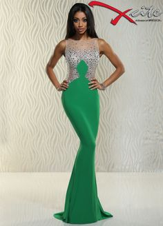 Xcite prom dress, pageant dress, formal gown, evening gown