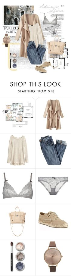 """""""Untitled #840"""" by dianekinkade ❤ liked on Polyvore featuring H&M, J.Crew, STELLA McCARTNEY, 3.1 Phillip Lim, Cole Haan, Bare Escentuals and Olivia Burton"""