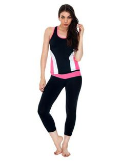 GAMEGEAR 3//4 LENGTH LEGGINGS ZIPPED KEY POCKET GYM SPORT WORKOUT YOGA LADIES NEW