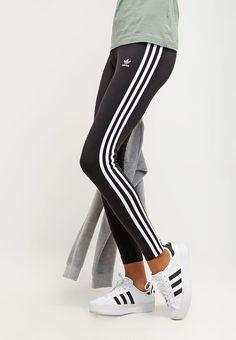 Vêtements adidas Originals Leggings - black noir: 34,95 € chez Zalando (au 15/09/17). Livraison et retours gratuits et service client gratuit au 0800 915 207.