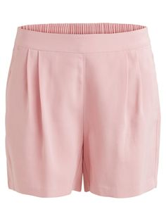 Style name: VIESTHER SHORTS | Short shorts | Pleated front detail | Two pockets | Elastic waist band | Front rise: 12 cm in size 38 | Inseam: 22 cm | Our model is 180 cm tall and wears size 38 Elastic Waist, Gym Shorts Womens, Short Dresses, Short Shorts, How To Wear, Shopping, Tops, Pockets, Band