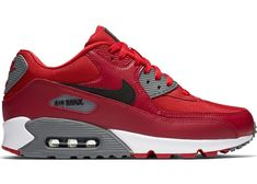 Buy and sell authentic Nike Air Max 90 Gym Red Noble Red shoes and thousands of other Nike sneakers with price data and release dates. Best Sneakers, Air Max Sneakers, Sneakers Fashion, Sneakers Nike, Nike Air Max Ltd, Air Max 90 Leather, Nike Air Shoes, Fresh Shoes, Sneaker Boots