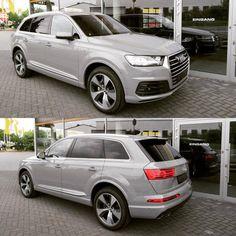 Calling #TeamNardo - 1st #newQ7 in #Nardogrey found #Audi #Q7      📷 Elite cars      #audidriven - a 'state of mind' oooo #AudiQ7 #AudiQ #quattro #greyAudi #quattroGmbH #Audicolor #nardogray #greyQ7...