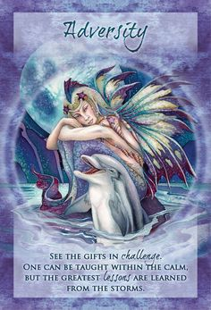 """Adversity"" Magical Times Empowerment Cards par Jody Bergsma"
