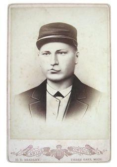 19th Century train conductor