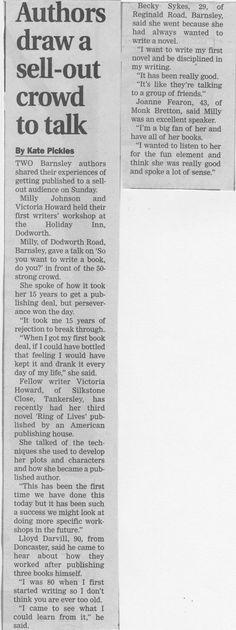 Barnsley Chronicle Article, June 2012