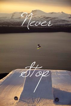 Snowboarding inspirational photography