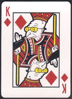 Futurama Playing Cards - Diamonds