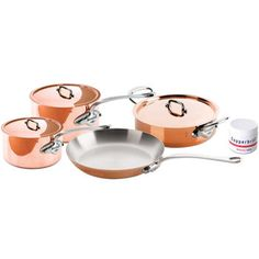 #Roboform #MyDearSantaWishList - Mauviel 7-pc. French Essentials M'Heritage 150 Copper Cookware Set