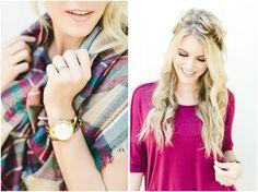 fall style, fall hair, LWP by Jess Trendy Hairstyles, Braided Hairstyles, Fall Hair, Autumn Fashion, Braids, Make Up, Blog, Hair Falling Out, Bang Braids