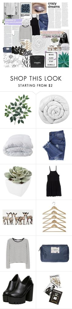 """""""you can't blame me for trying"""" by philosoqhy ❤ liked on Polyvore featuring Vagabond, Chanel, Brinkhaus, Soft-Tex, Essie, Abigail Ahern, Miu Miu, WALL, MANGO and Barbour"""