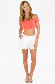 Crop It Off Top ~ TOBI love this outfit for Santa Barbara!