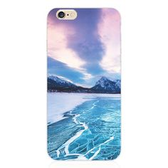 5SE 4'' Painting Multipeaked Mountains TPU Cover For Apple iPhone 5se Cases Case