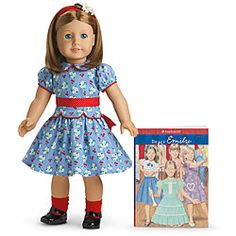 Emily - American Girl Hostorical Character Doll era 1944. Has a friend, Molly