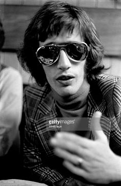 Robin Gibb of the Bee Gees appears around 1971.