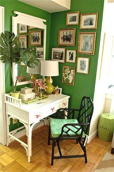 Shades of Green: A Verdant Spring Decorating Palette - Decoist